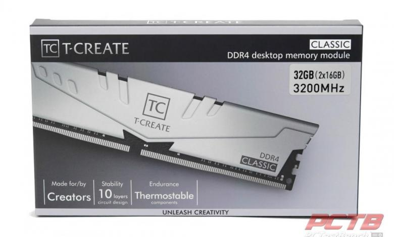 TEAMGROUP T-Create Classic 10L DDR4 Memory Review 33