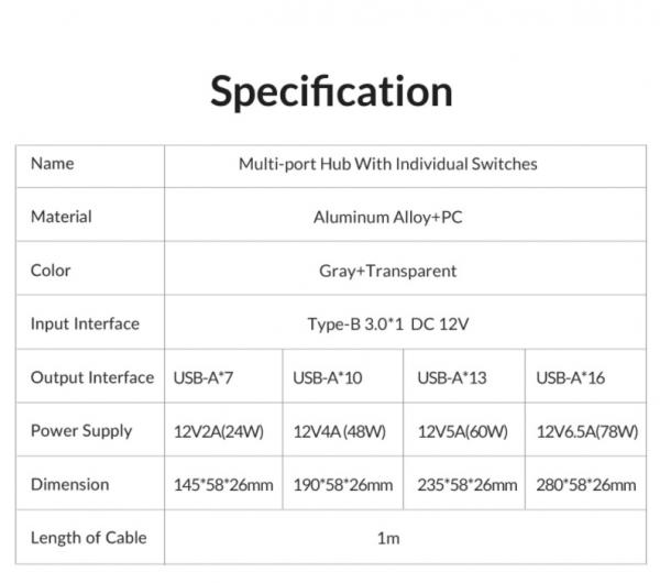 ORICO Aluminum Powered USB Hub Review 12