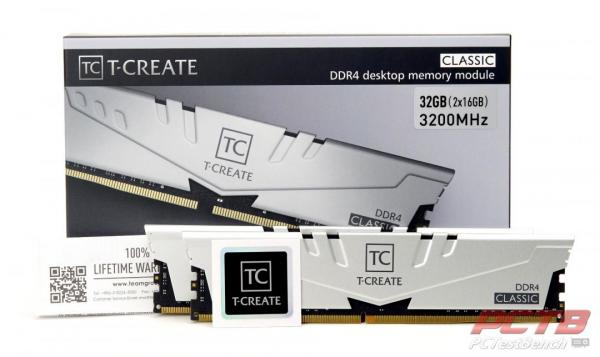 TEAMGROUP T-Create Classic 10L DDR4 Memory Review 1