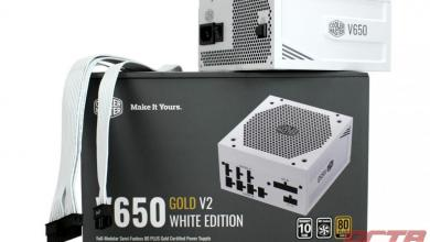 Cooler Master V650 GOLD-V2 WHITE EDITION PSU Review 1