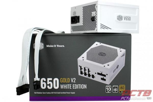 Cooler Master V650 Gold V2 White Edition Cover