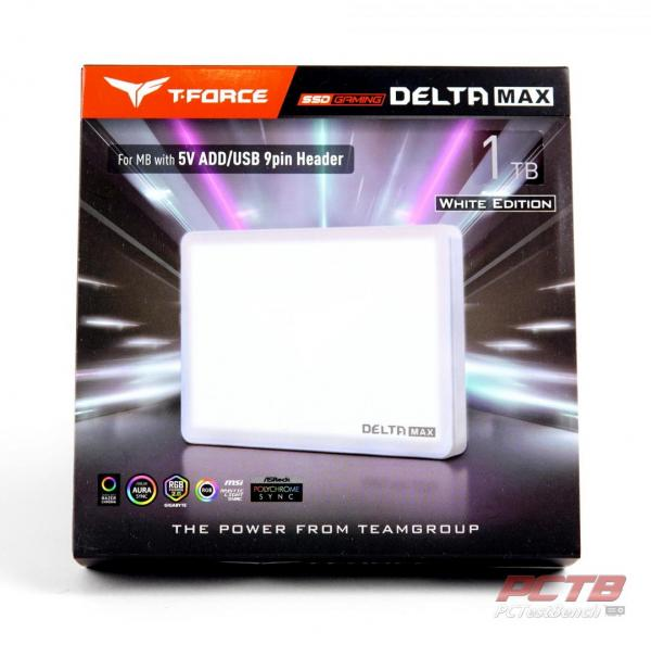 TeamGroup Delta Max White 1TB SSD Review 1