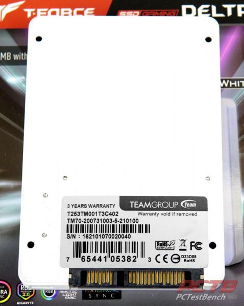 TeamGroup Delta Max White 1TB SSD Review 3