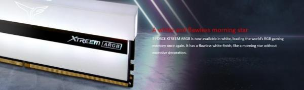 TeamGroup Xtreem ARGB White DDR4 Memory Review 1