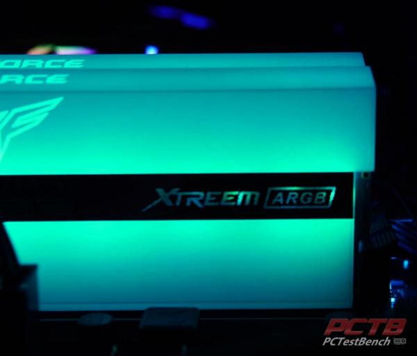 TeamGroup Xtreem ARGB White DDR4 Memory Review 8