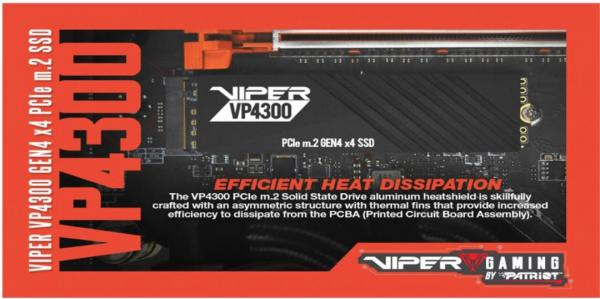 VIPER launches NEW VP4300 PCIe Gen4 M.2 SSD 5
