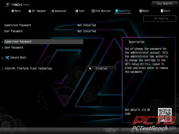 ASRock Z590 Taichi Motherboard Review 13
