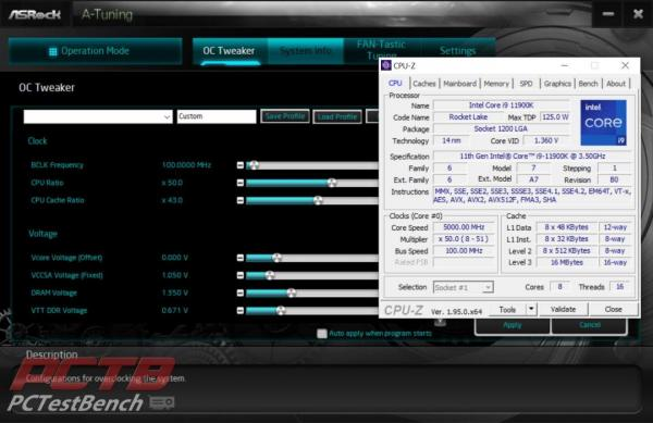 ASRock Z590 Taichi Motherboard Review 1