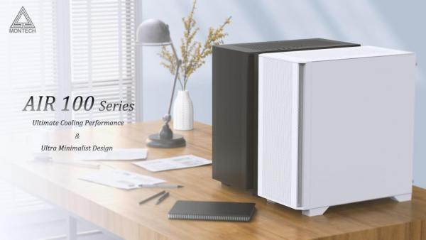 MONTECH Rethinks High-Performance Micro-ATX with AIR 100 1