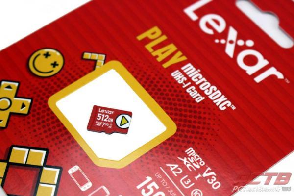 Lexar PLAY MicroSDXC