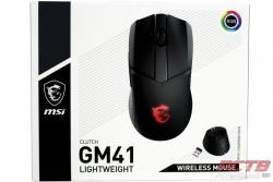 MSI Clutch GM41 Wireless Mouse Review 1