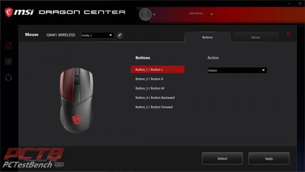 MSI Clutch GM41 Wireless Mouse Review 4