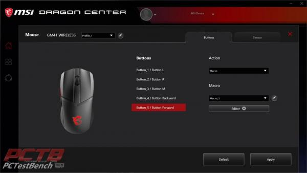MSI Clutch GM41 Wireless Mouse Review 7