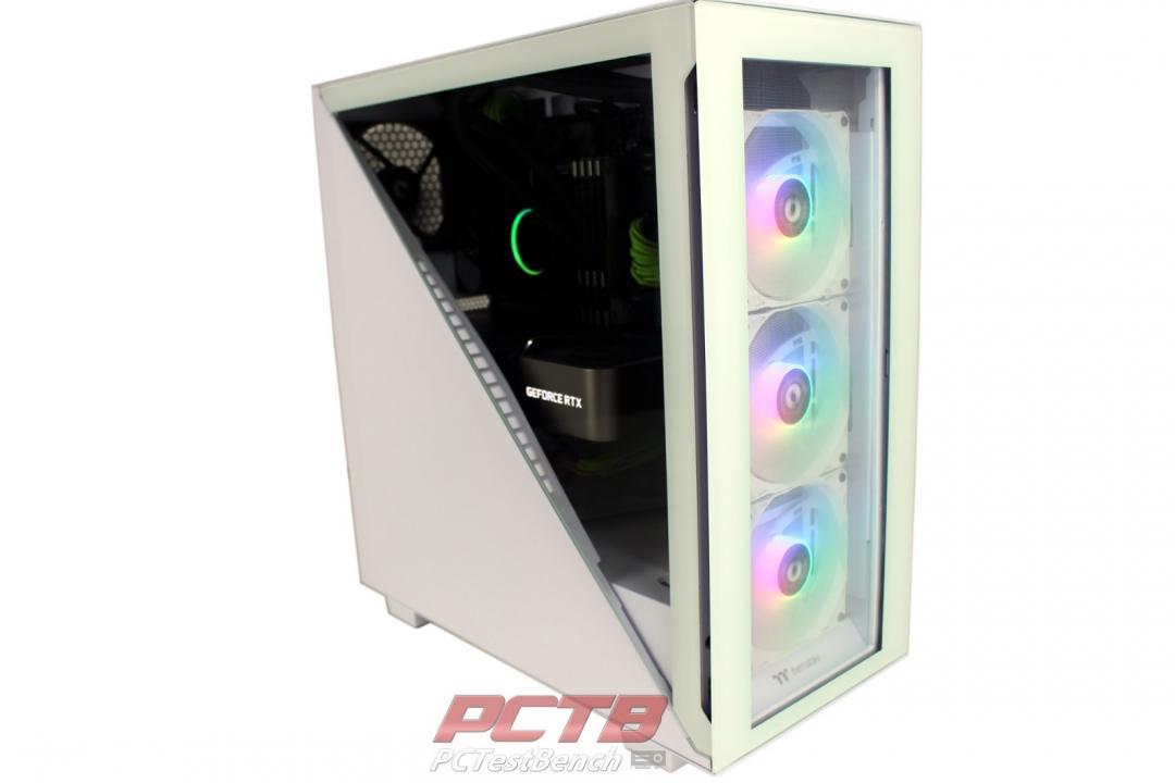 Thermaltake Tower 300 TG Snow ARGB