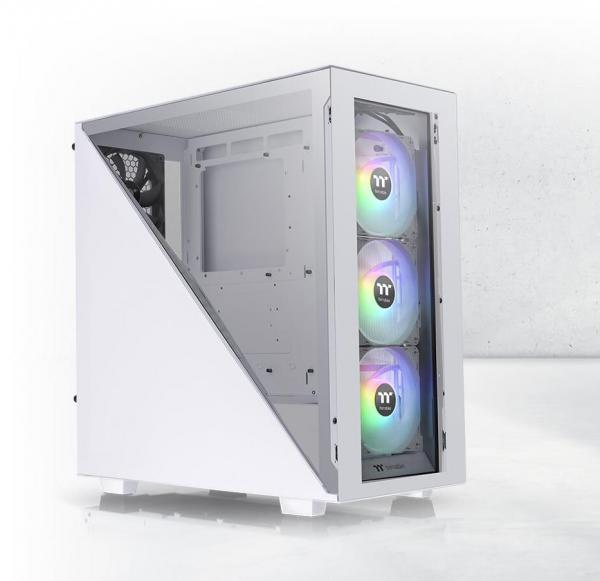 Thermaltake Divider 300 TG Snow ARGB Mid Tower Review 1