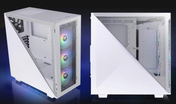 Thermaltake Divider 300 TG Snow ARGB Mid Tower Review 2