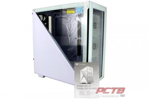 Thermaltake Divider 300 TG Snow ARGB Mid Tower Review 4