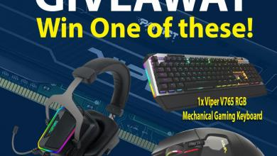 Viper Keyboard Mouse Headset Giveaway