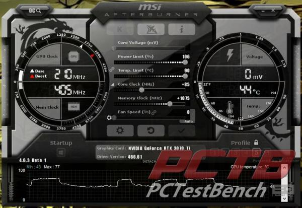 MSI GeForce RTX 3070 Ti SUPRIM X 8G Review 12