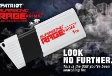 Patriot launches SUPERSONIC RAGE PRIME Flash Drive 429