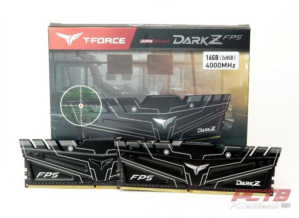 Teamgroup DARK Z FPS DDR4 Memory Review 2