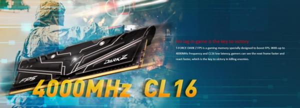 Teamgroup DARK Z FPS DDR4 Memory Review 4