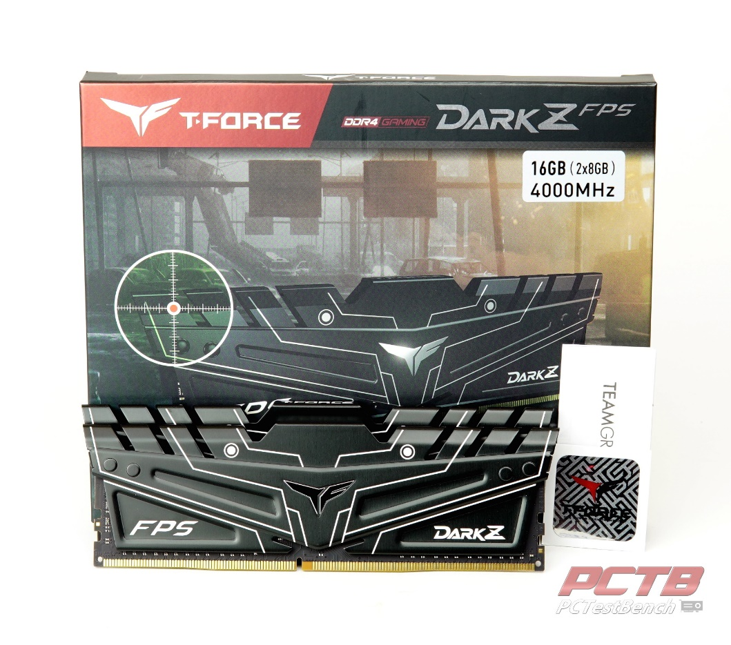 Teamgroup DARK Z FPS DDR4 Memory Review 1