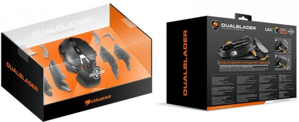 COUGAR Introduces The DUALBLADER Fully Customizable Gaming Mouse 2
