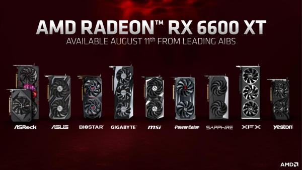 AMD Introduces the Radeon RX 6600 XT Graphics Card 7