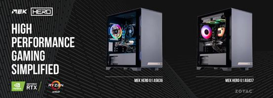 ZOTAC Launches MEK HERO High-performance Gaming Desktop Series 1