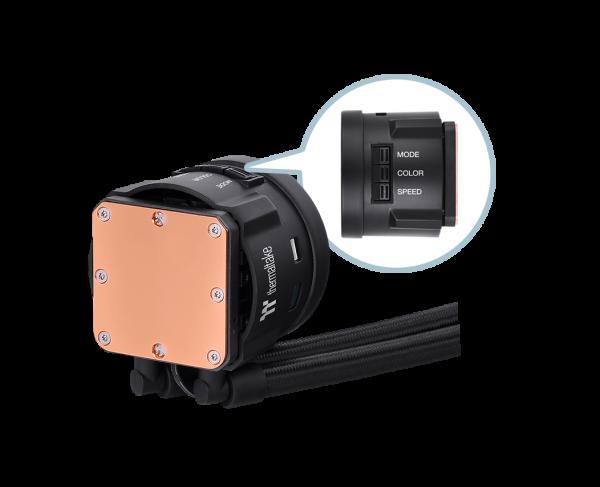 Thermaltake TOUGHLIQUID 240 ARGB Sync AiO Liquid Cooler Review 3