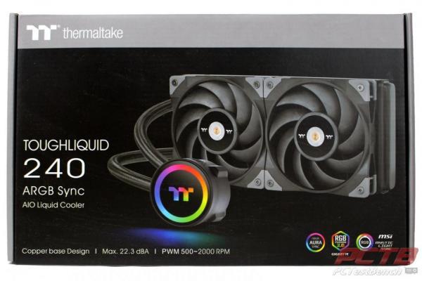 Thermaltake TOUGHLIQUID 240 ARGB Sync AiO Liquid Cooler Review 1