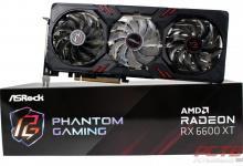 ASRock Radeon RX 6600 XT Phantom Gaming D 8GB OC
