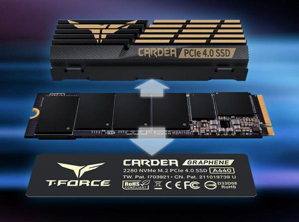 TeamGroup TForce Cardea A440 PCIe 4.0 M.2 SSD Review 2
