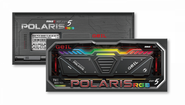GeIL Announces the Availability of POLARIS RGB DDR5 Gaming Memory Kits 2