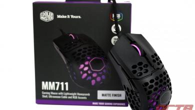 Cooler Master MM711 Lightweight Gaming Mouse Review 9