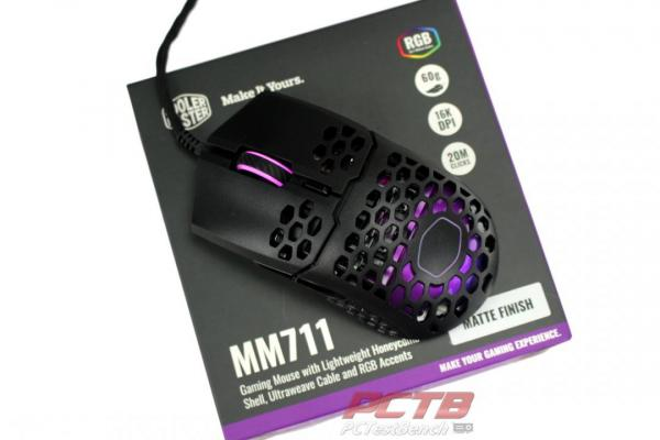 Cooler Master MM711 Lightweight Gaming Mouse Review 1