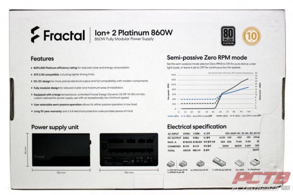 Fractal Ion+ 2 Platinum 860W PSU Review 2