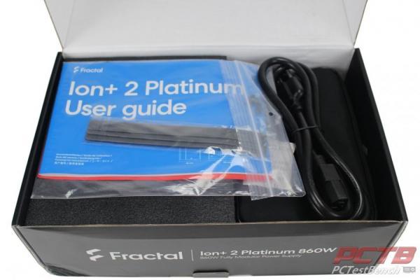 Fractal Ion+ 2 Platinum 860W PSU Review 3