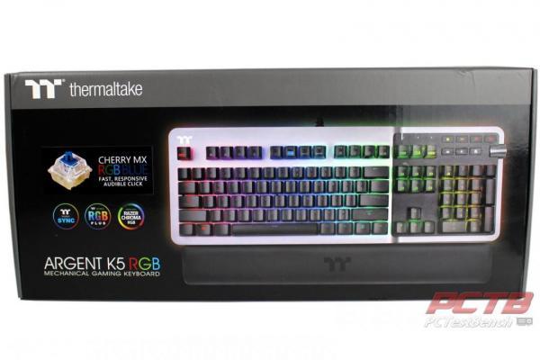Thermaltake ARGENT K5 RGB Gaming Keyboard Review 1
