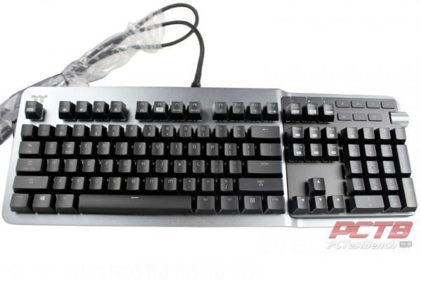 Thermaltake ARGENT K5 RGB Gaming Keyboard Review 4