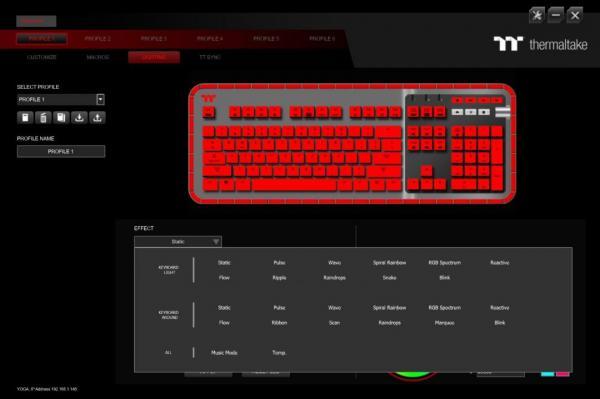 Thermaltake ARGENT K5 RGB Gaming Keyboard Review 3