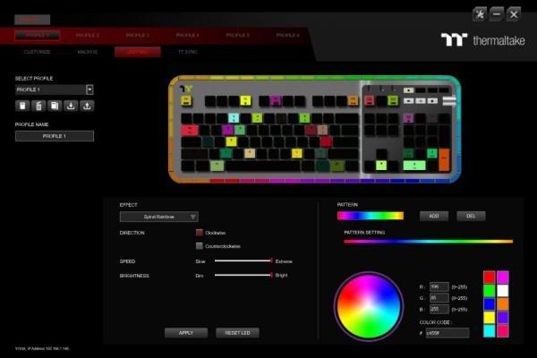 Thermaltake ARGENT K5 RGB Gaming Keyboard Review 6