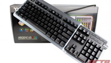 Thermaltake ARGENT K5 RGB Gaming Keyboard Review 8