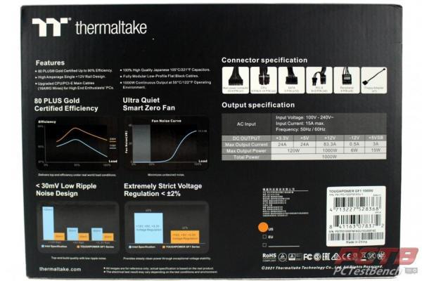 Thermaltake Toughpower GF1 1000W TT Premium Edition PSU Review 2