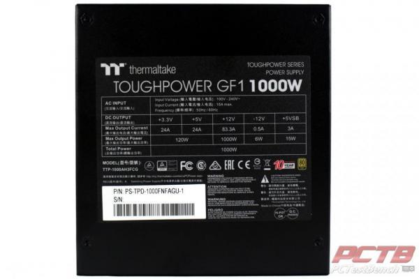 Thermaltake Toughpower GF1 1000W TT Premium Edition PSU Review 6